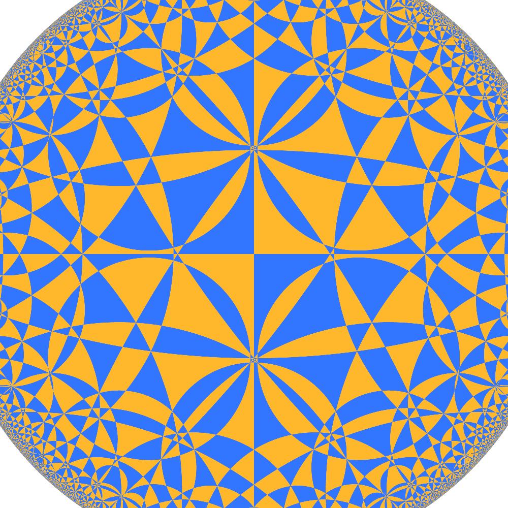 Horosphere Cross Section